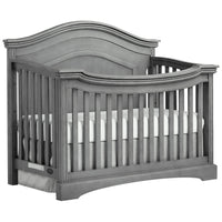 Evolur Adora Curve Top Convertible Crib - bestnurseryfurniture.com