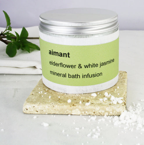 Personalised Aimant Mineral Bath Salt Infusion