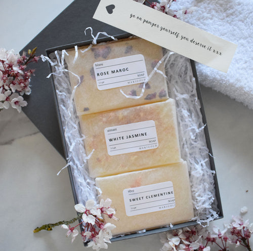 Organic Soap Letterbox Gift Collection
