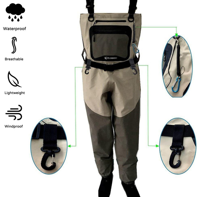 Fishing Waterproof Breathable Waders
