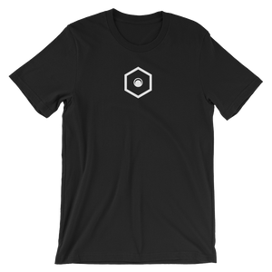Short-Sleeve Unisex Logo Tee (Black)