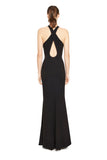 Halter Key Hole Gown
