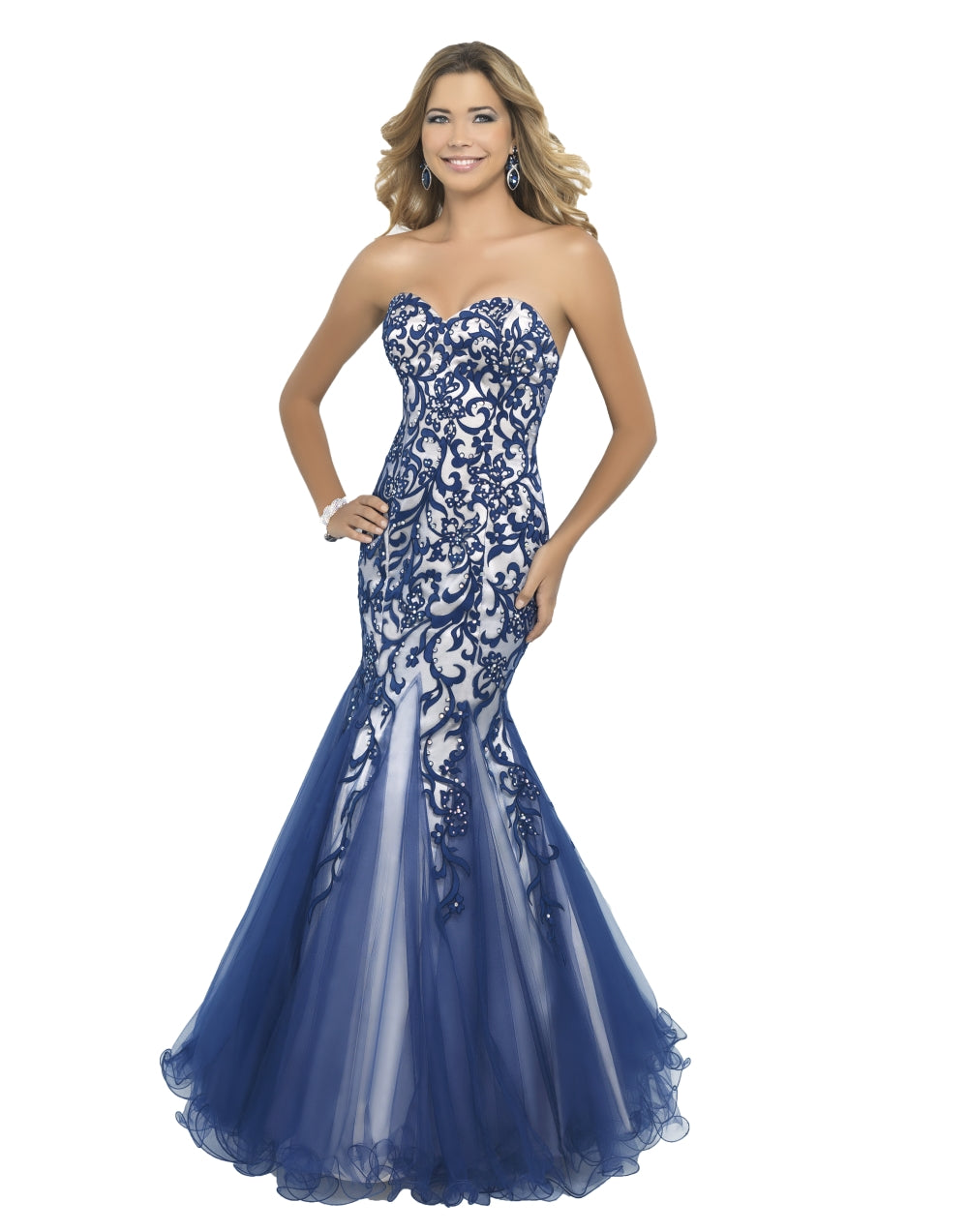 Mermaid Strapless Gown