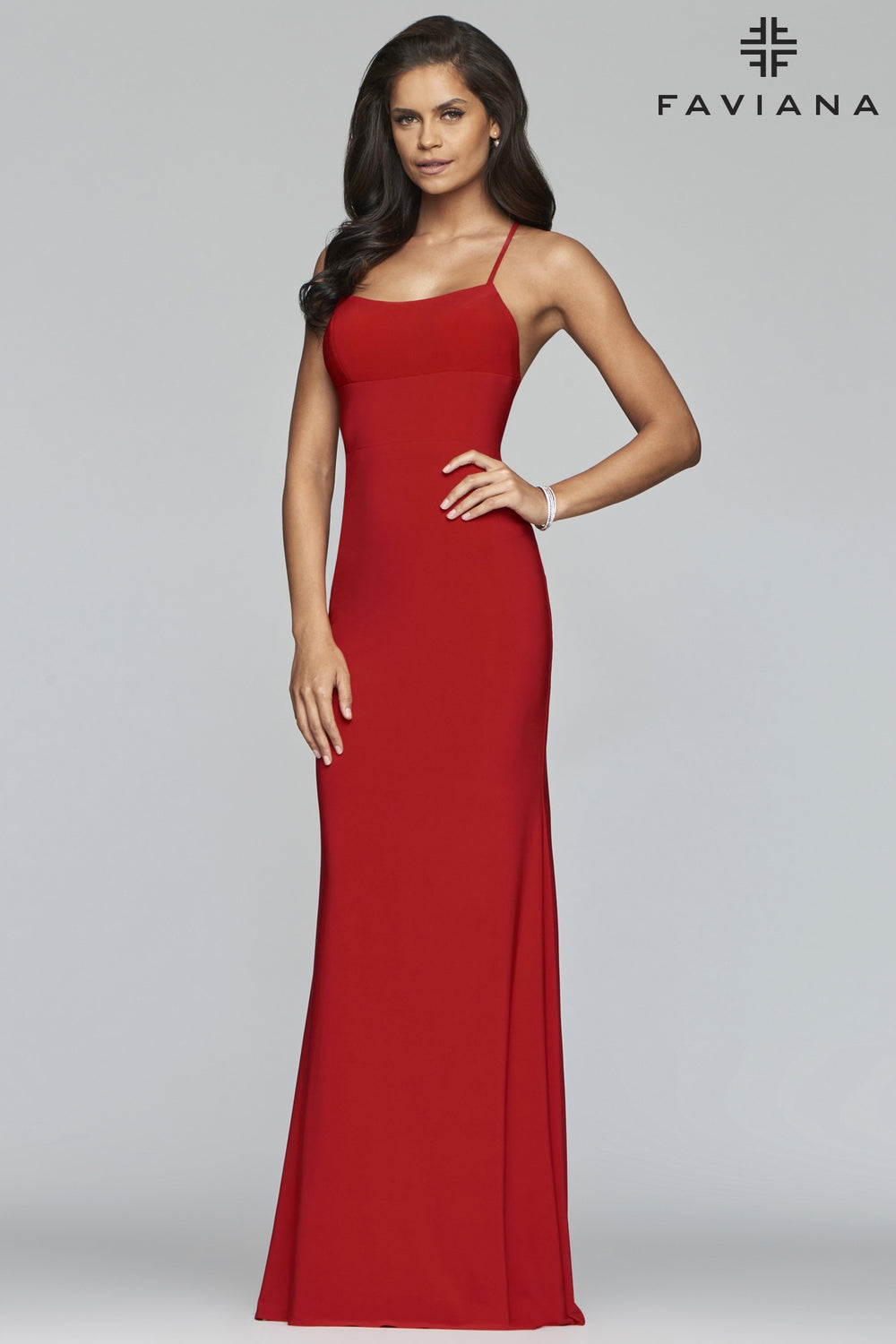 Fitted Jersey Gown