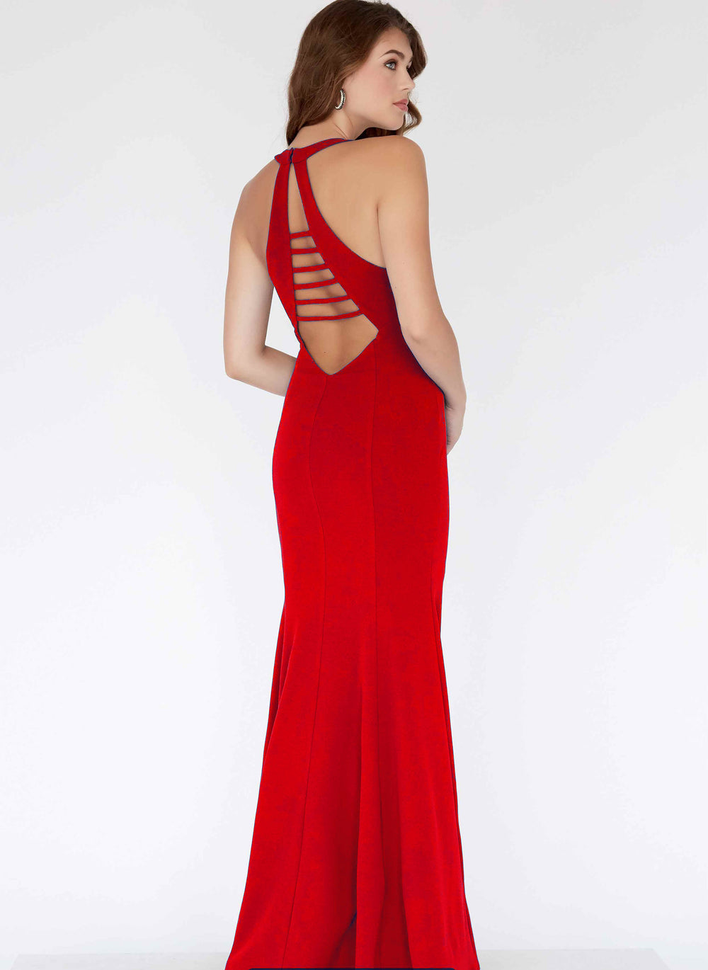 Open Back Gown