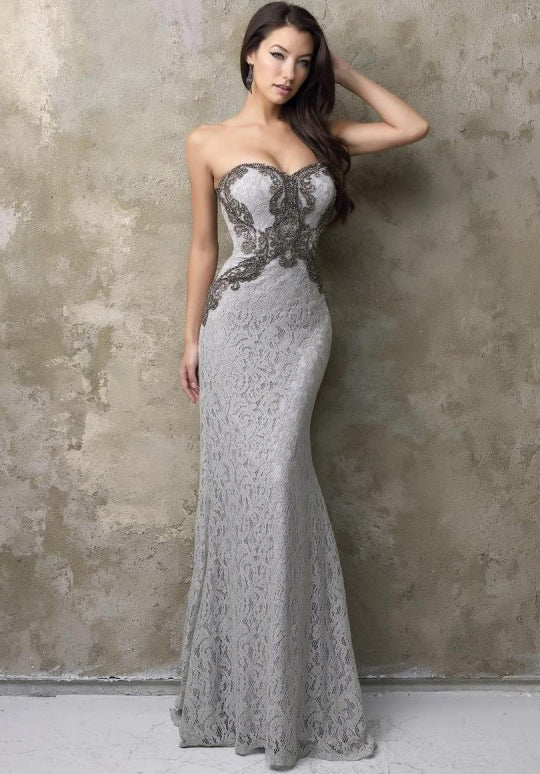 Lace Sheath Gown