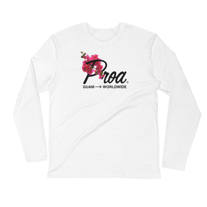 Bougainvillea Long Sleeve (White)