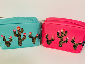 Small Cactus Travel Case