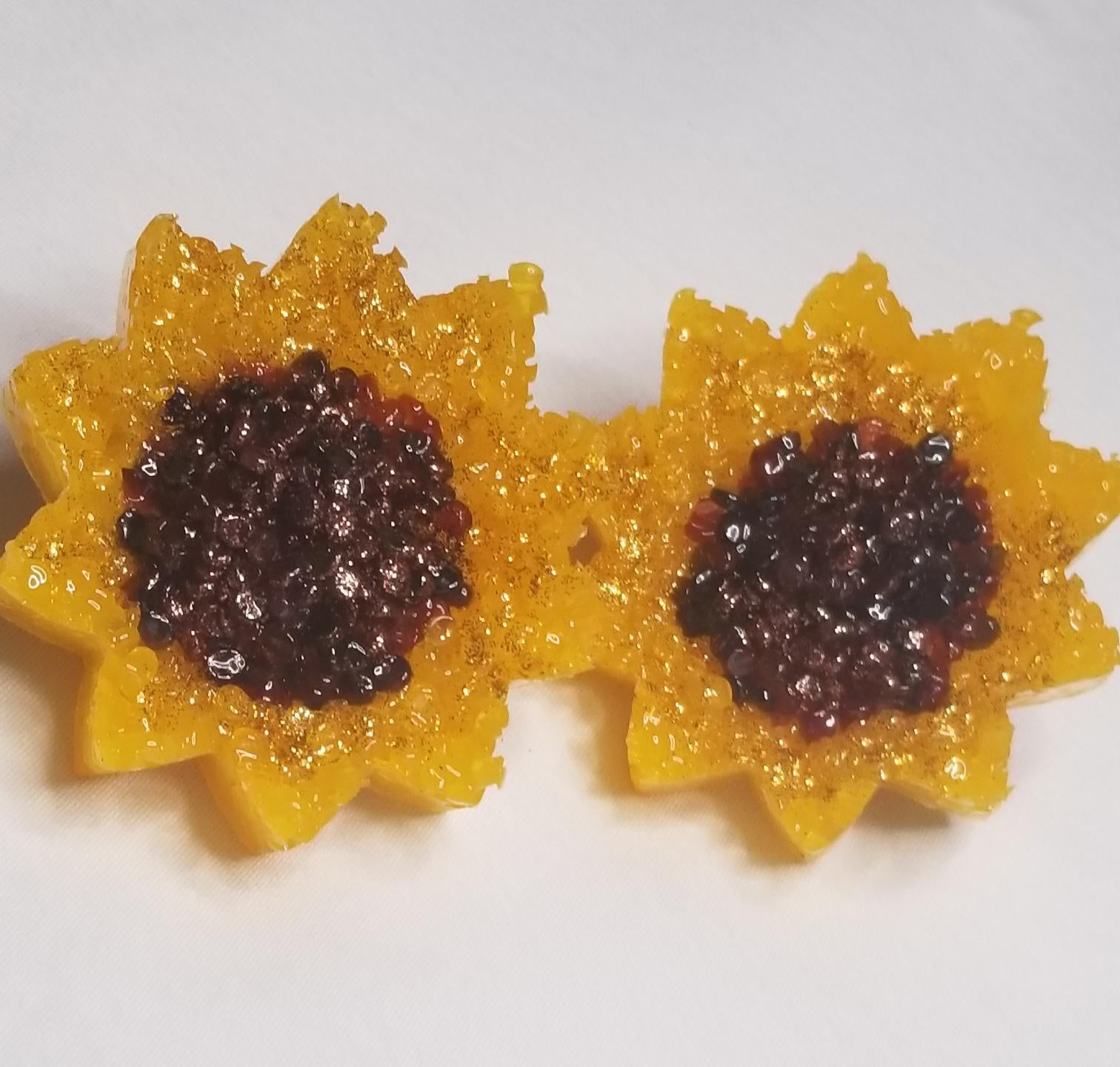 Sunflower Vent Clips