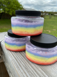 Rainbow Sugar Scrubs