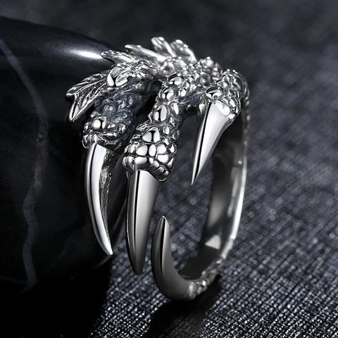 Open Claw Dragon Ring
