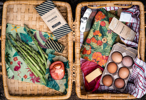 5 benefits of storing your food in beeswax wraps