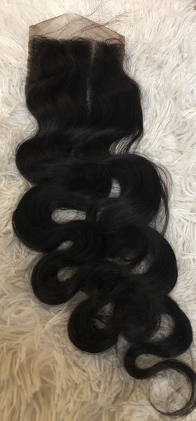 4x4 Indian Middle Part Closure