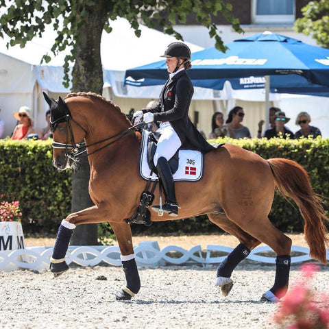 Cathrine Dufour - photo courtesy of Cathirine Dufour Dressage