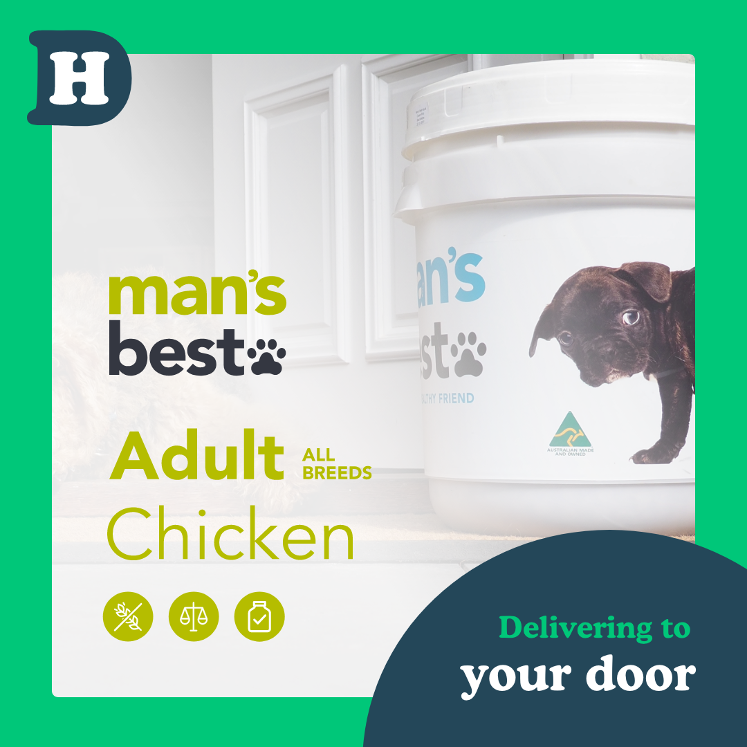 Man's Best All Breeds Adult Chicken 11kg Swap and Go