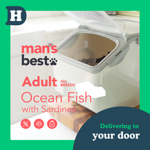 Man's Best All Breeds Ocean Fish 5kg Pantry Pack Swap and Go