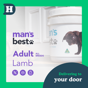 Man's Best All Breeds Adult Lamb 11kg Swap and Go