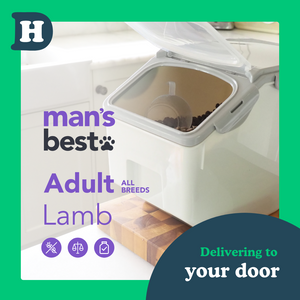 Man's Best All Breeds Adult Lamb 5kg Pantry Pack Swap and Go