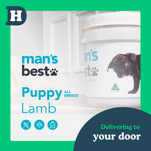 Man's Best All Breeds Puppy Lamb 11kg Swap and Go