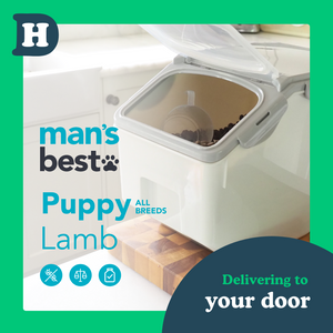 Man's Best All Breeds Puppy Lamb 5kg Pantry Pack Swap and Go