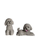 Mini Poodle Statue Set 1:6