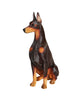 Stylish Doberman Statue 1:6