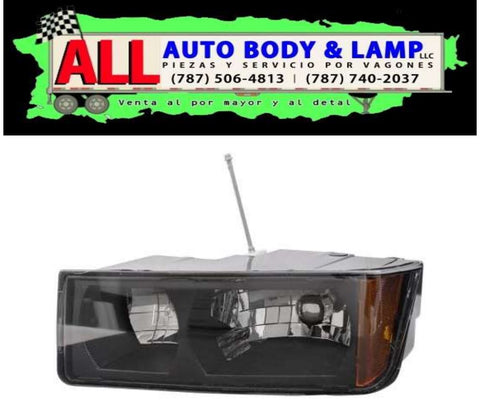 CHEVROLET AVALANCHE 02-06 HEAD LAMP LH