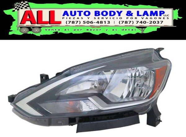 NISSAN SENTRA 16-18 HEAD LAMP LH