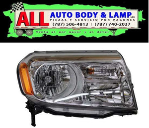 HONDA PILOT 12-15 HEAD LAMP RH