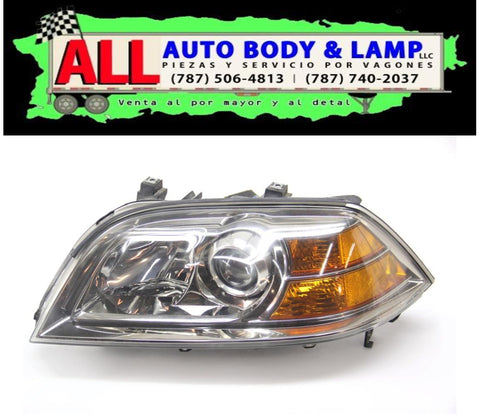 ACURA MDX 04-06 HEAD LAMP LH