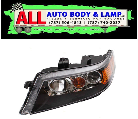 ACURA TSX 06-08 HEAD LAMP LH