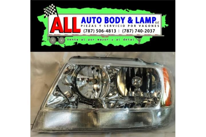 JEEP GRAND CHEROKEE 99-04 HEAD LAMP LH LIMITED CLEAR