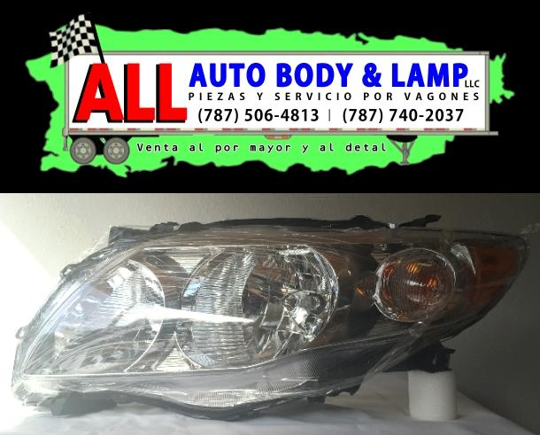 TOYOTA COROLLA 09-10 HEAD LAMP LH CLEAR CE