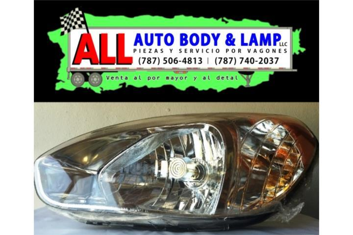 HYUNDAI ACCENT 06-11 HEAD LAMP LH 2Y4PTA