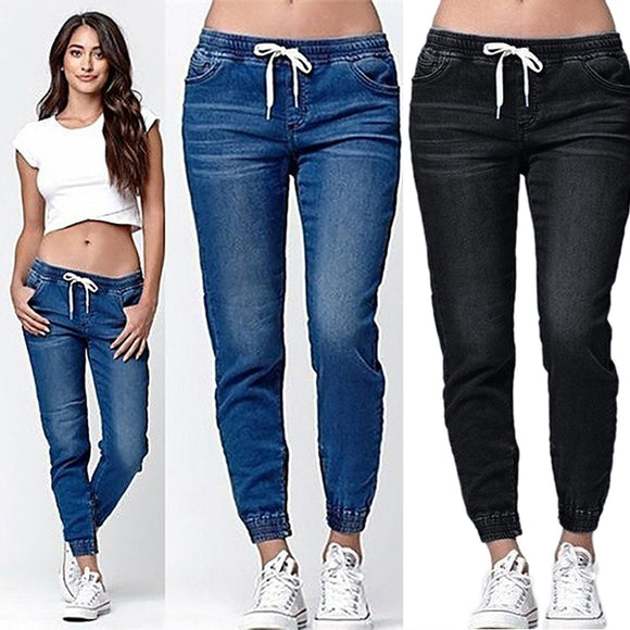 Women high wasted jeans