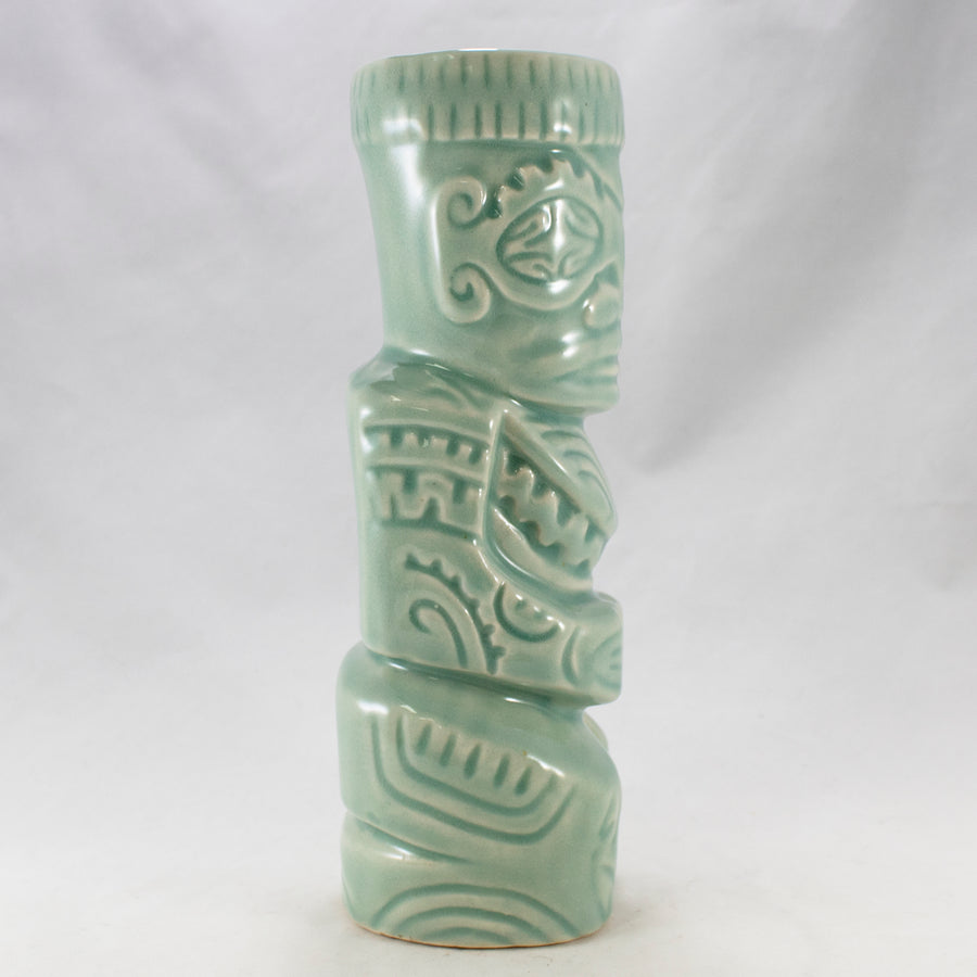 Moku Moku Tiki Mug - Light Vintage Green