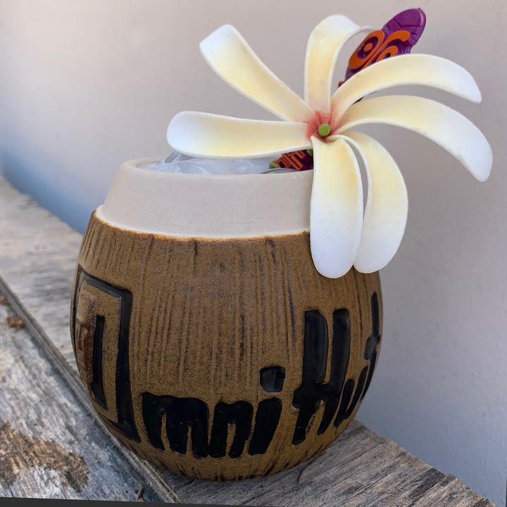 Omni Hut Coconut Mug - Treasure Chest Item