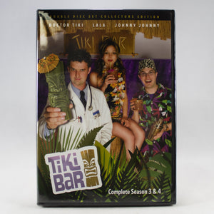 Tiki Bar TV Complete Season 3&4 DVD