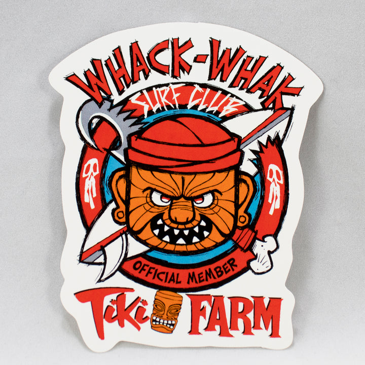 Whack-Whak Sticker