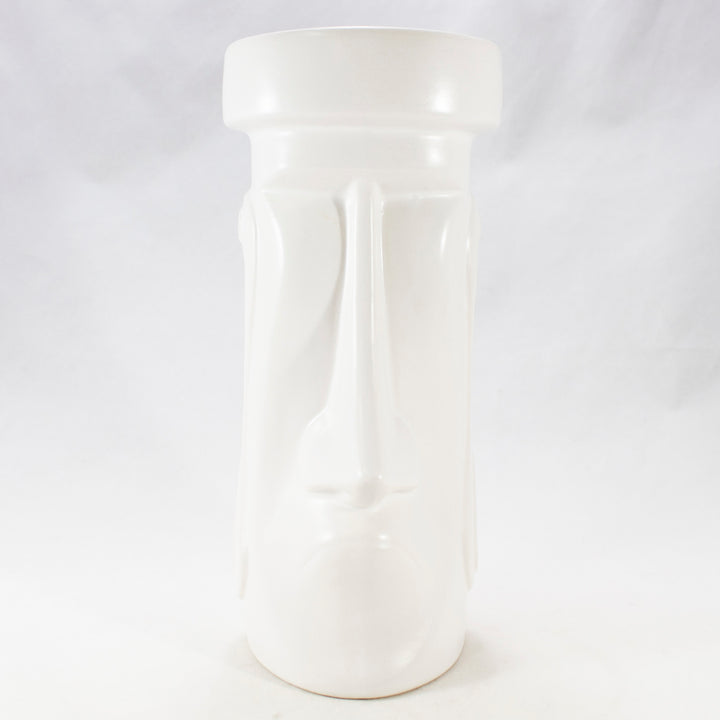 The Moai Sophisticate, White