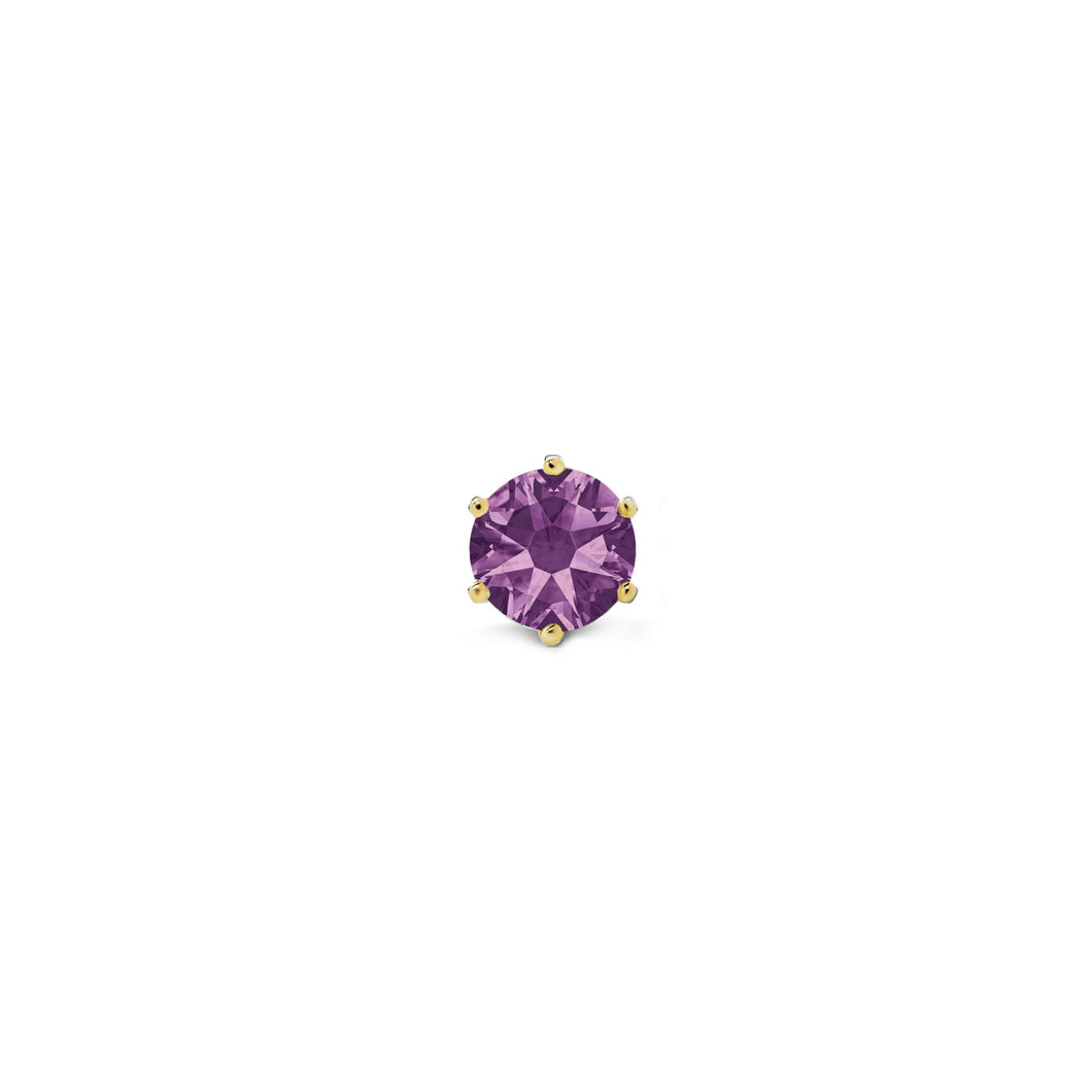 PURPLE STONE (YELLOW)