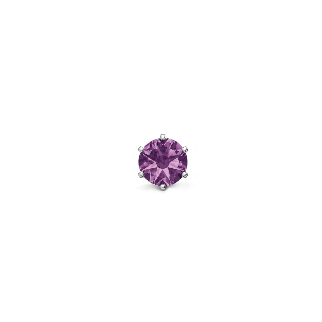PURPLE STONE (WHITE)
