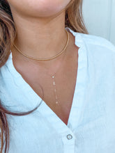 Load image into Gallery viewer, 14K NAME LARIAT NECKLACE