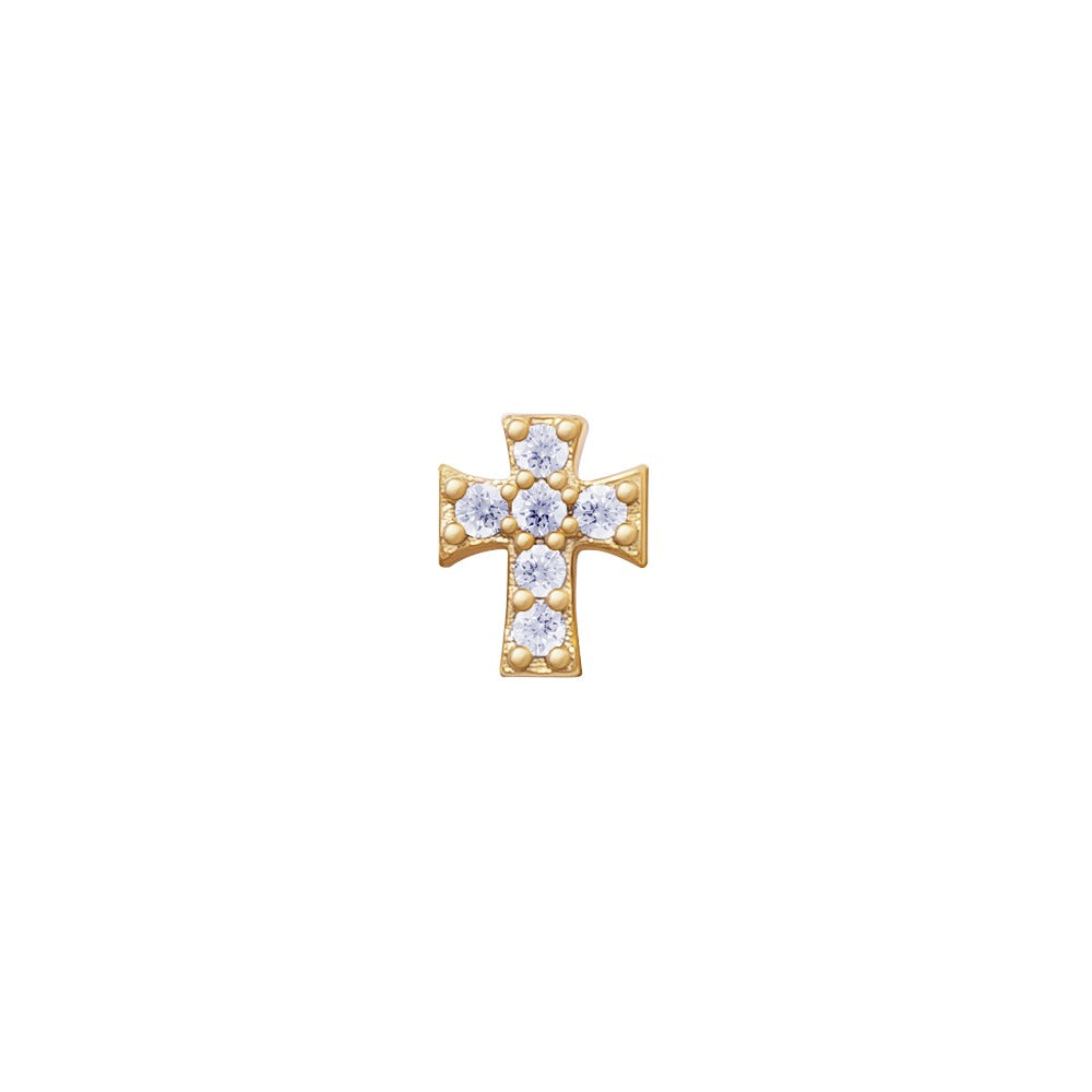 PAVE CROSS (YELLOW)-PRE ORDER