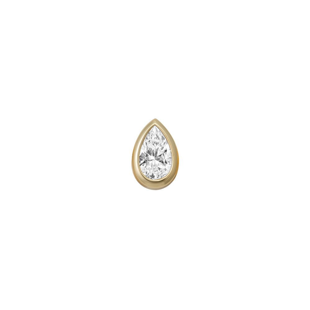 FANCY PEAR CHARM (YELLOW)