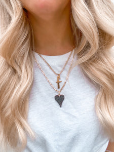 PAVE HEART CHARM