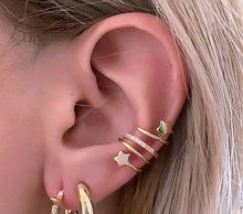Load image into Gallery viewer, PAVE EAR CUFF