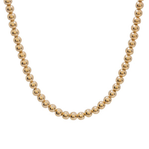6MM BEAD BALL NECKLACE