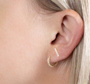 MINI PAVE EAR HUGGERS