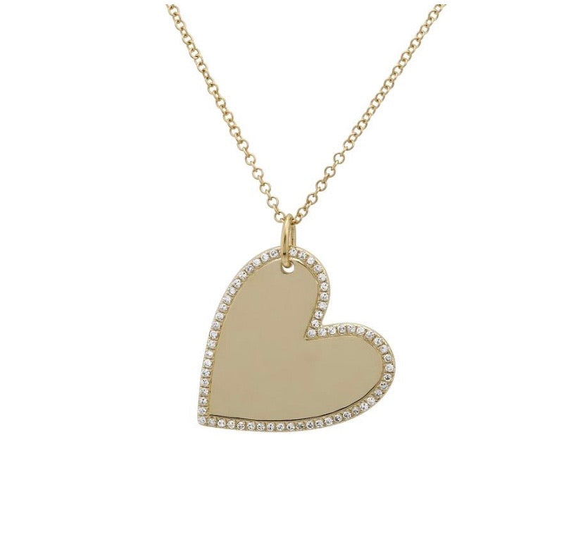 HEART ENGRAVE NECKLACE